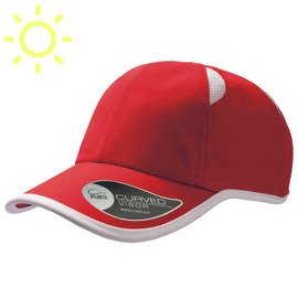 Baseball cap GYM RED-WHITE