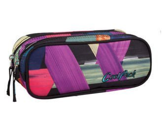 Pencil case Coolpack Clever Color strokes 78009CP No. 675