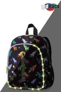 School backpack Coolpack Bobby LED Rockets 22714CP A23207