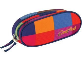 School pencil case Coolpack Academy Mosaic 44882CP nr 005