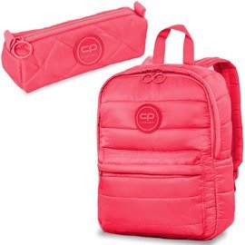 Set Coolpack Coral Touch - Abby backpack and Ruby pencil case