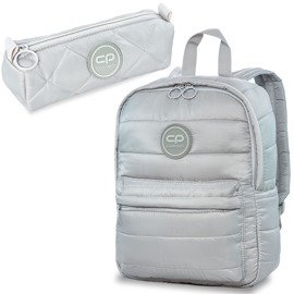 Set Coolpack Grey Mist - Abby backpack and Ruby pencil case