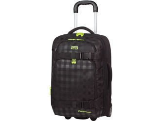 Small suitcase Coolpack Voyager Black&Yellow 62787CP nr 363