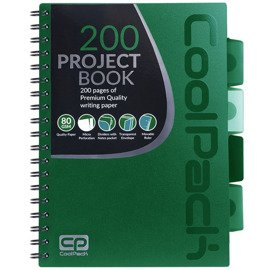 Spiral Note Books B5 Coolpack Green 94085CP