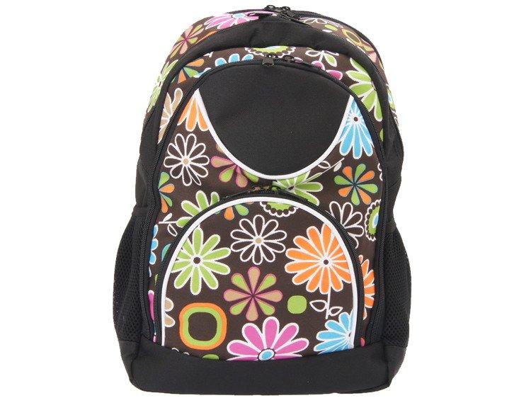 c420b280e9014 PLECAK MŁODZIEŻOWY SZKOLNY TURYSTYCZNY KWIATY - Backpacks \ Urban ...