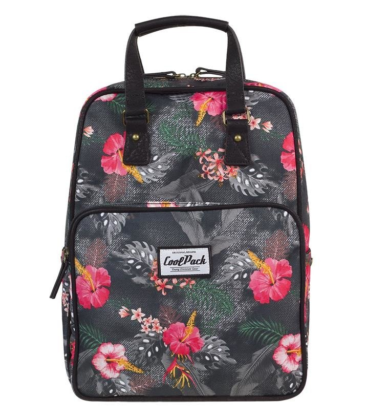 Urban Backpack Coolpack Cubic Coral Hibiscus 12317cp Nr A090