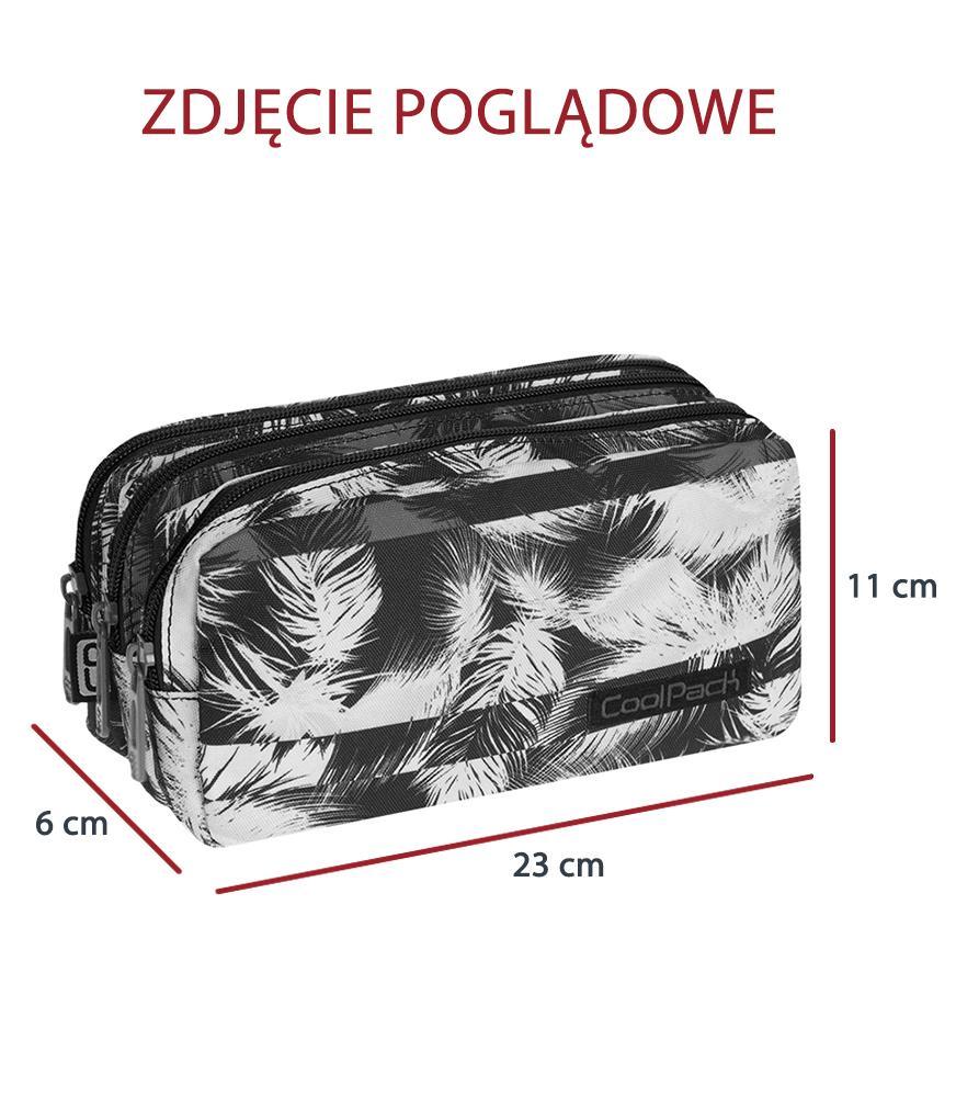 Triple Decker Pencil Case Coolpack Primus Crazy Pink