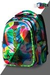School backpack Coolpack Joy L LED Rainbow Leaves 96775CP A21210