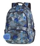 School backpack Coolpack Spiner Blue Hibiscus 86841CP nr A078