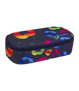 Piórnik szkolny Coolpack Campus Rainbow Hearts 86469CP nr A064