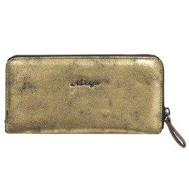 f414c2d96a6ff Portfel damski z kieszenią na telefon New Design złoty 98329-946 GOLD