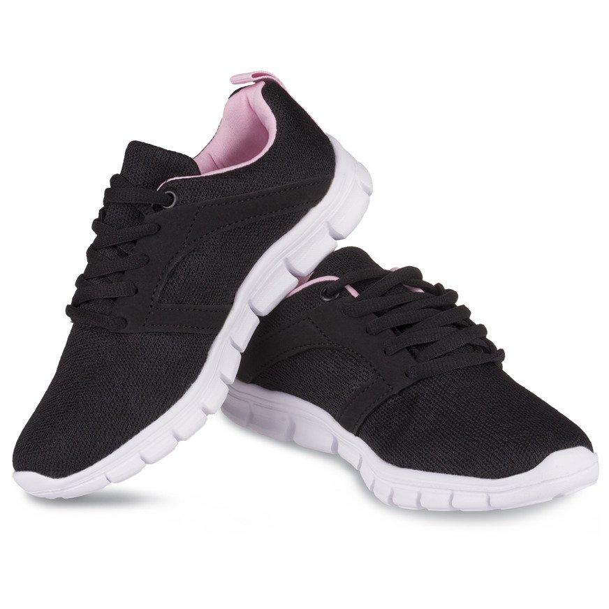Buty sportowe damskie różowe 36