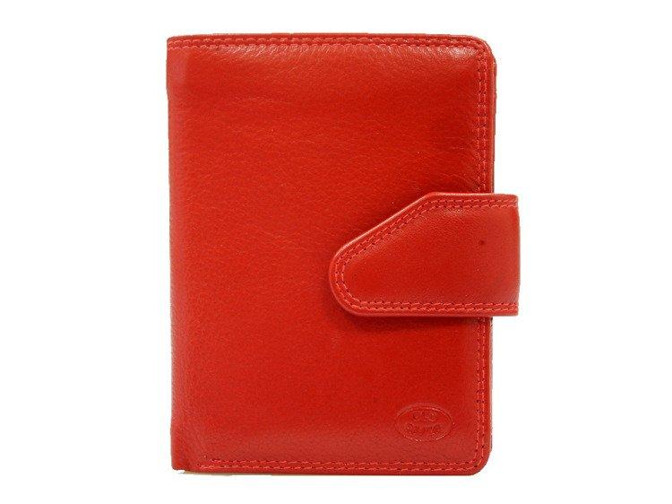 1a70bab9a1383 Klasyczny skórzany portfel damski Old River 8095 Czerwony Kliknij, aby  powiększyć ...