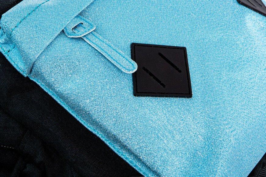 0aef5eda49966 Kliknij, aby powiększyć; Młodzieżowy Plecak szkolny Coolpack Hippie Blue  Glitter 22370CP B33083