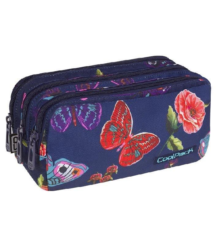 88373e5195dec Piórnik szkolny trzykomorowy Coolpack Primus Summer Dream 80245CP nr ...