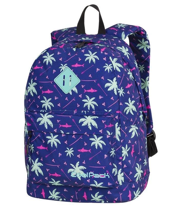 f4dc971442347 Plecak młodzieżowy Coolpack Cross Pink Sharks 86912CP nr A261 Kliknij