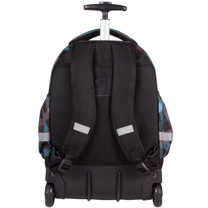 8f0ecc39fc446 Kliknij, aby powiększyć · Plecak młodzieżowy na kółkach Coolpack Rapid  Classic Grey 60004CP ...