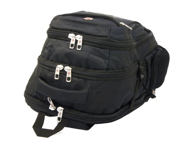 63d30e957cf76 Plecak na laptopa New Bags czarny R-604 - Plecaki \ Plecaki miejskie ...