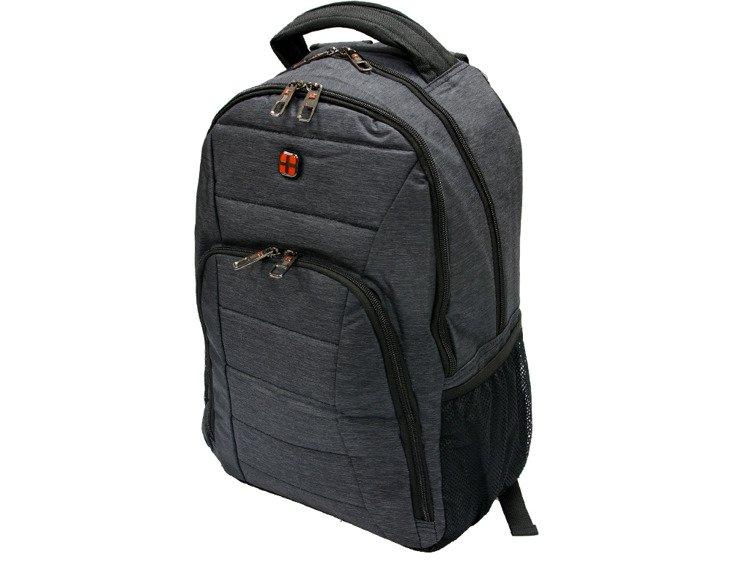 4c9c48d304ae2 Plecak na laptopa New Bags szary R-649 - Plecaki \ Plecaki miejskie ...