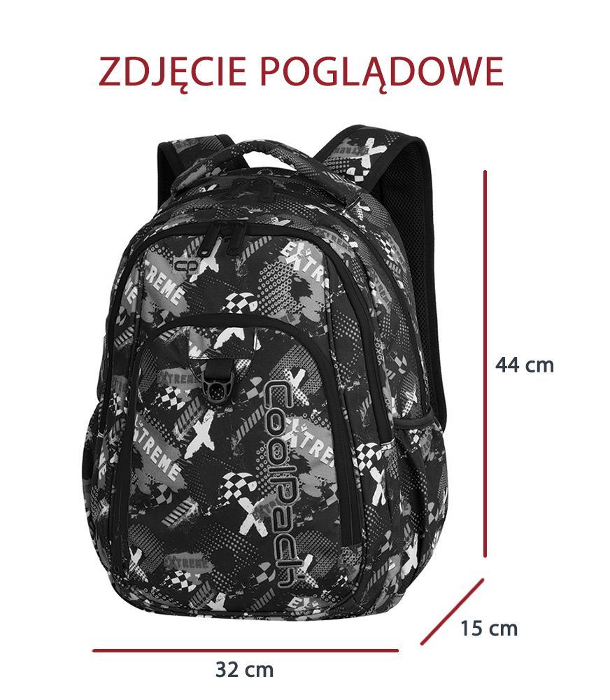 7199d7b7a7a11 Plecak szkolny Coolpack Strike Geometric Shapes 85229CP nr A201 ...