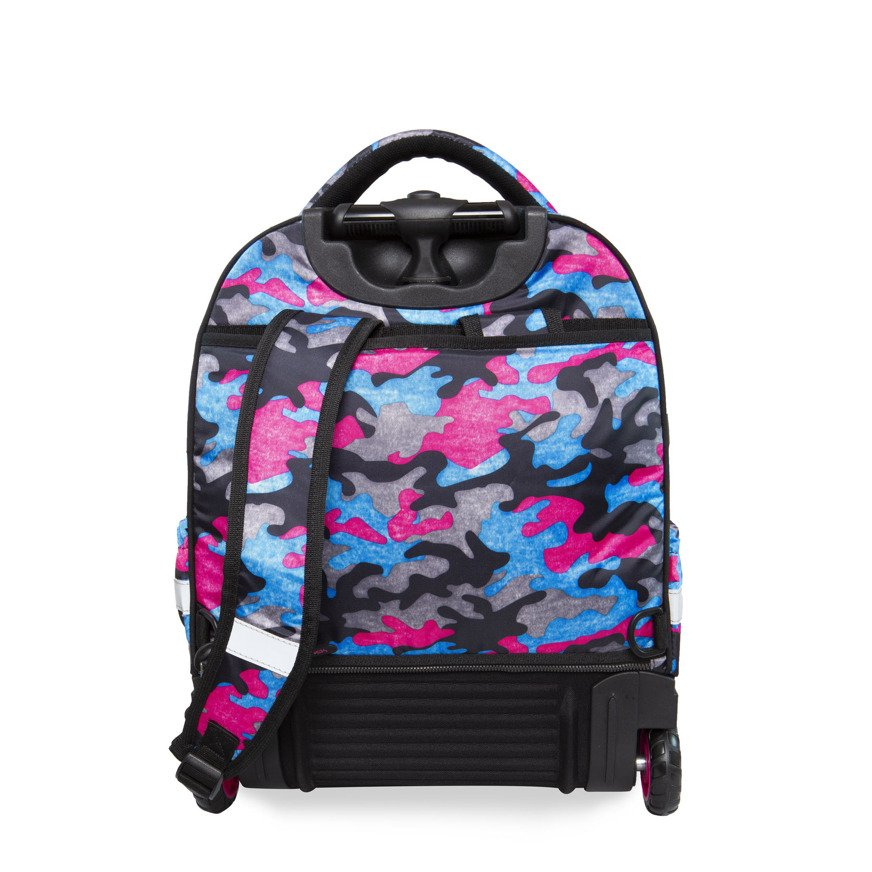 2752b486868a8 Kliknij, aby powiększyć · Plecak szkolny na kółkach CoolPack Starr Camo  Fusion Pink 24686CP nr B35093