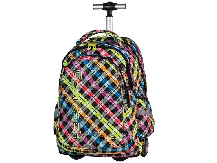 02d46eb79976e Plecak szkolny na kółkach Coolpack Junior Colour Check 61025CP nr ...