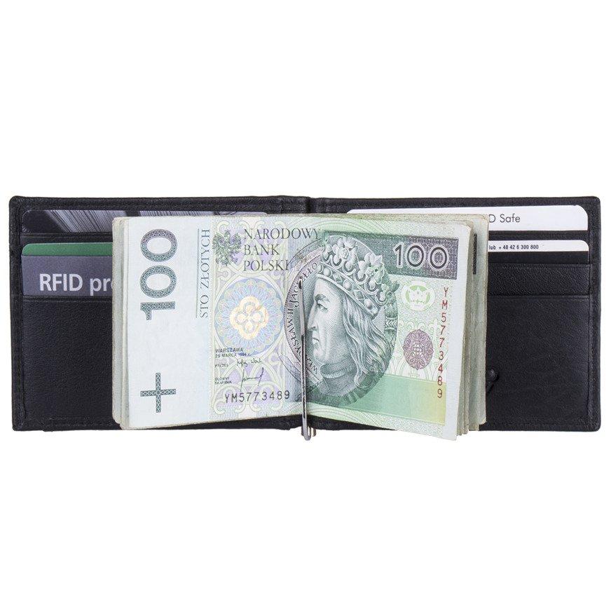 fd4df137c90eb Kliknij, aby powiększyć; Portfel męski - banknotówka New Business Bags RFID  STOP LBC-112 SCHWARZ Kliknij, aby ...