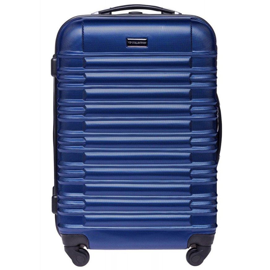 20061717e16a3 Średnia walizka twarda Vip Collection Nevada 24'' Niebieska Kliknij, aby  powiększyć ...