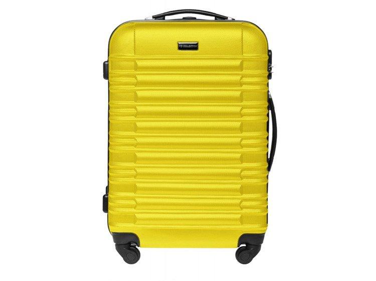 3b3747eb0308f Średnia walizka twarda Vip Collection Nevada 24'' Żółta Kliknij, aby  powiększyć ...