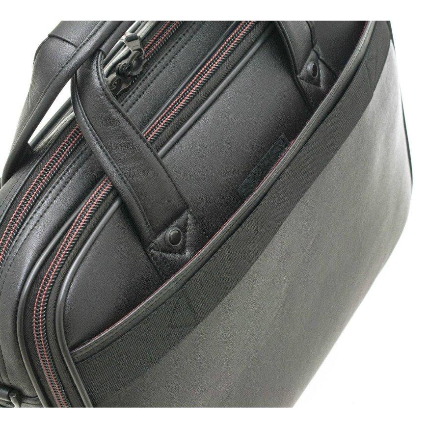 f7807742ca164 Torba biznesowa teczka na laptopa Davidt s czarna 282.700.01 ...