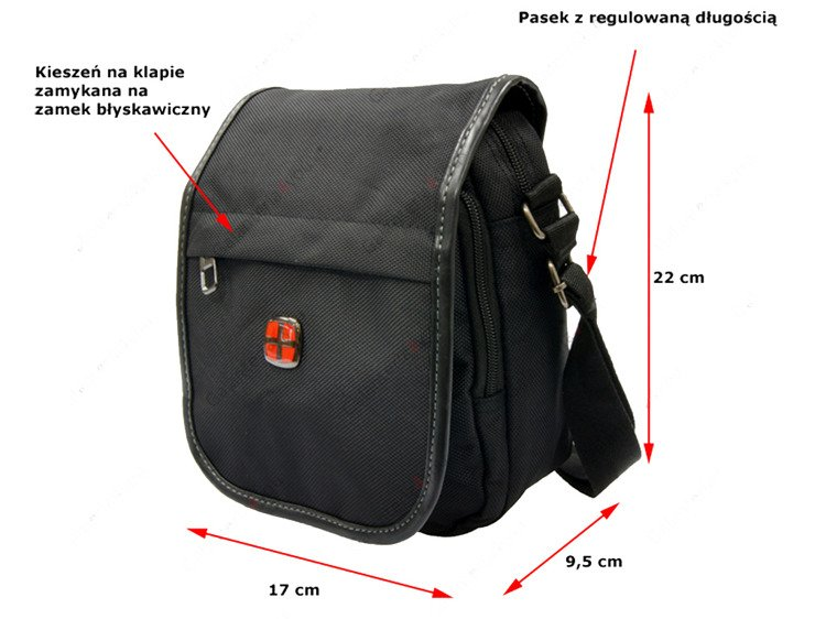 d8e1cc3d20e40 Torba na ramię New Bags czarna NB-5101 - Torby \ Torby na ramię ...