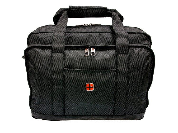 e38e1454843d1 Torba na ramię na laptopa New Bags czarna NB-5111 - Nesesery i ...