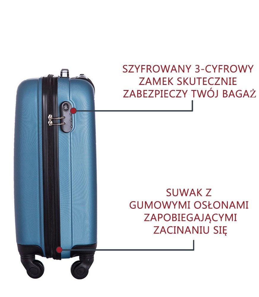 e9679c137cd61 ... Walizka kabinowa Vip Collection Benelux 20