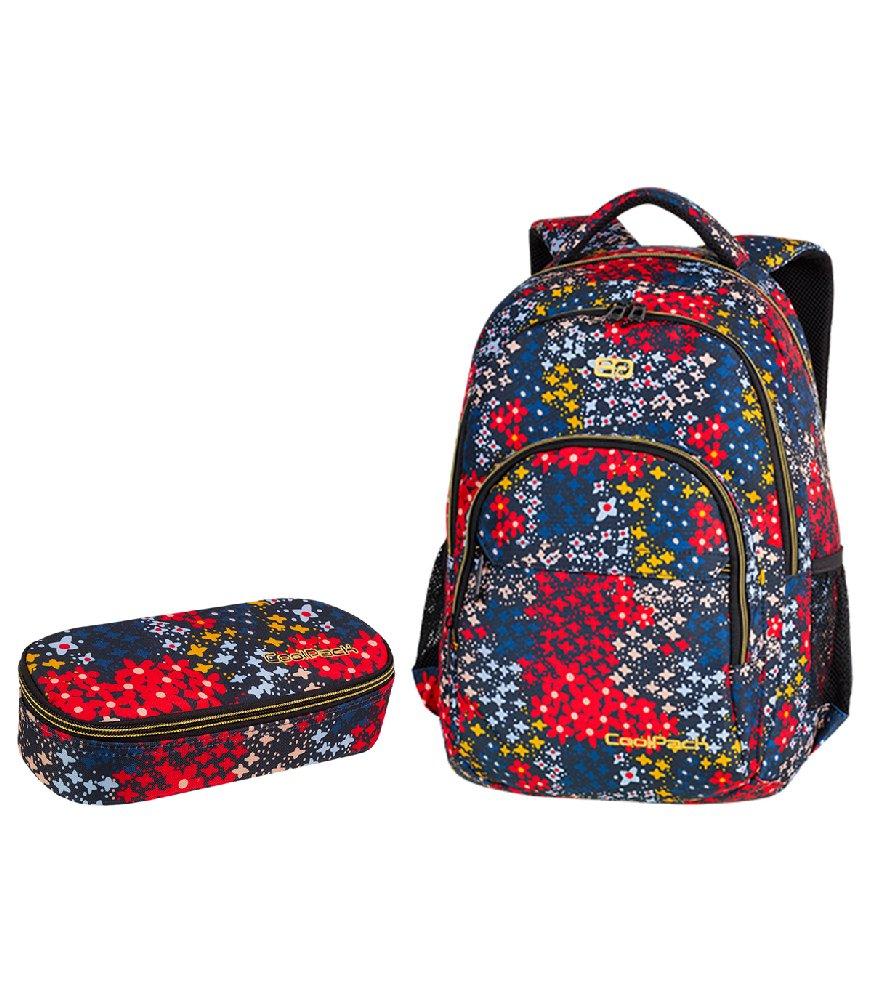 4d0769723cd95 Zestaw szkolny Coolpack 2018 Summer Meadow - plecak Basic Plus i piórnik  Campus Kliknij, aby powiększyć ...