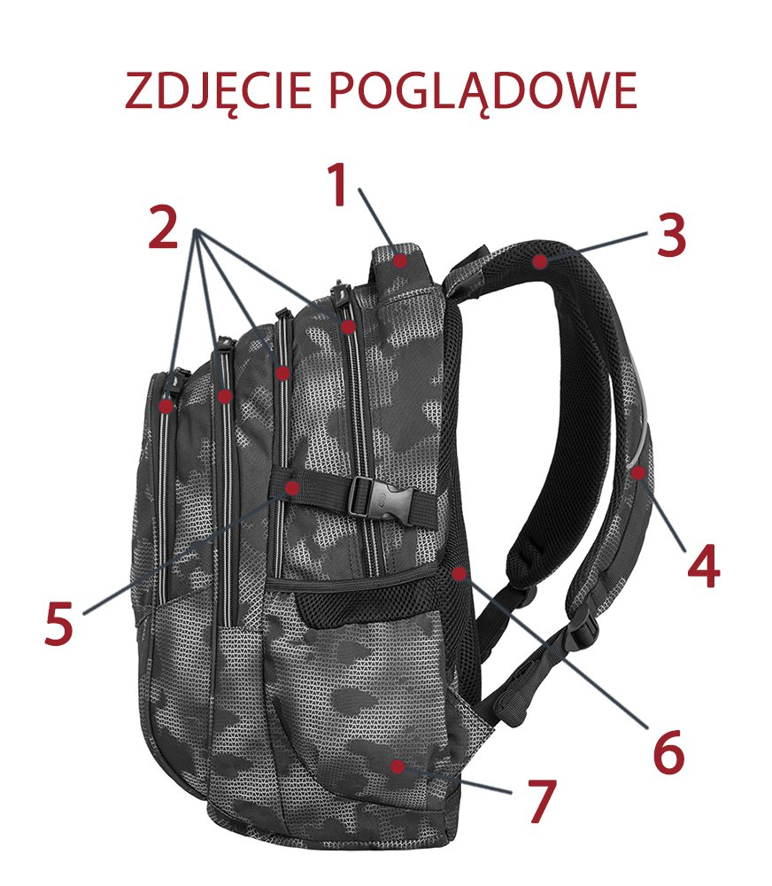 41c9ac91ab3f6 Kliknij, aby powiększyć; Zestaw szkolny Coolpack 2018 Summer Meadow - plecak  Factor i piórnik Primus