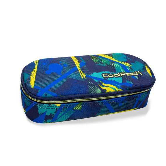 Piórnik szkolny CoolPack Campus Abstract Yellow 32645CP nr B62007