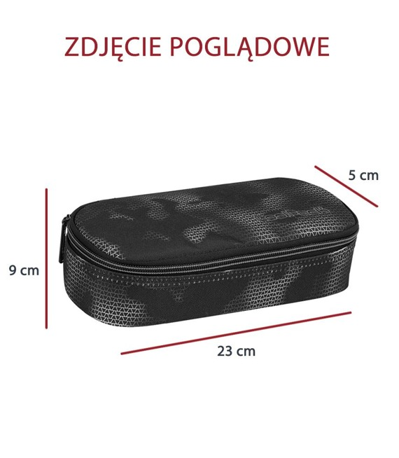 Piórnik szkolny Coolpack Campus Camouflage Tangerine 88848CP nr A343