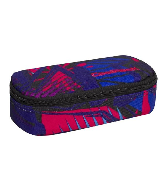 Piórnik szkolny Coolpack Campus Crazy Pink Abstract  87735CP nr A292